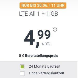 月租€4.99 带号入网再送€6.8
