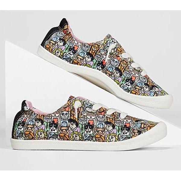 BOBS from Skechers 帆布鞋