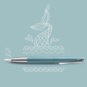 Lamy湖蓝色 EFStudio系列钢笔