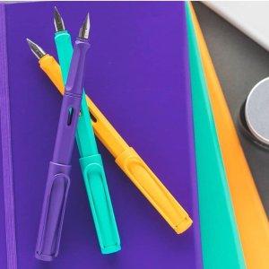 6.6折起 低至€20.79可收Lamy凌美钢笔 高颜值书写顺 多色可选 收狩猎者系列、恒星系列