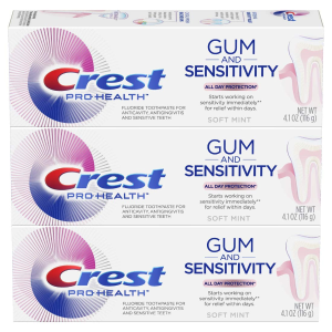 Crest Pro-Health Gum and Sensitivity, Sensitive Toothpaste 3 Pack