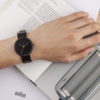 秒杀¥516 (原价¥911)Braun 男式离子石英手表 模拟显示表盘 简约大气