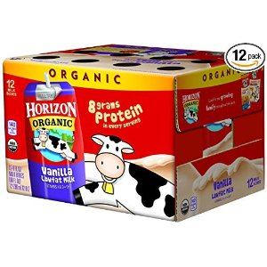 Horizon Organic低脂有机牛奶8oz 12包