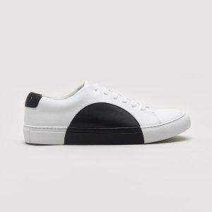 They New YorkCircle Low in White-Black