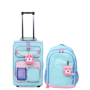 $49.99Crckt Kids 2-Pc. Printed Carry-On Suitcase & Backpack Set