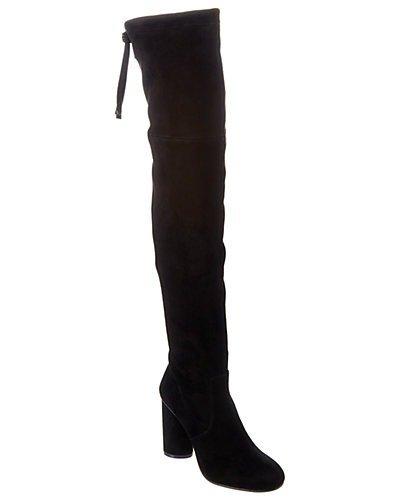 Helena 95 麂皮过膝靴