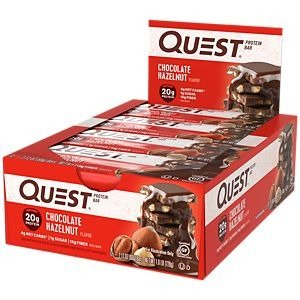 QUEST NUTRITIONQuest Bar - CHOCOLATE HAZELNUT (12 Bars) by Quest Nutrition at the Vitamin Shoppe