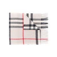 复古格纹围巾