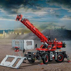 LEGO 机械组 复杂地形起重机 42082,含马达,臂高达一米