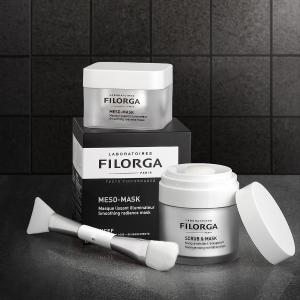 满$80送按摩仪+积分返现Filorga 法国王牌医美送礼 十全大补面膜$90 玻尿酸洁面$40