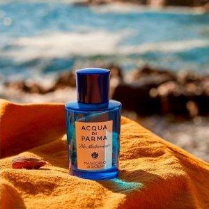 买1送1!个护香氛套装$106Acqua帕尔马之水 超值香氛专场 蓝色地中海、经典原香免费得!