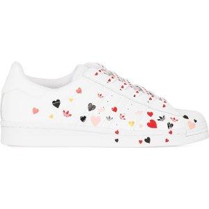 adidas Originals爱心贝壳鞋