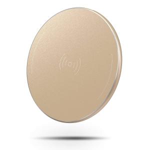 $9.99 (原价$14.99)闪购:OMOTON 土豪金 超薄无线充电板