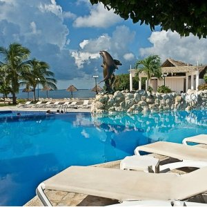 $133/人起 含住宿+餐饮+娱乐墨西哥坎昆4星级一价全包度假村