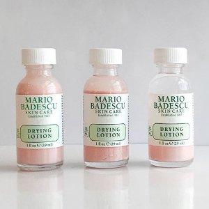 7.8折起,£5收玫瑰喷雾Mario Badescu 专业天然护肤罕见折扣 油痘肌亲妈