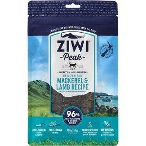 ZiwiPeak鲭鱼羊肉味风干猫粮 14oz