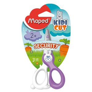 $3.70 Maped Kidicut Safety Scissors 4.75 Inch, Assorted Colors (037800)