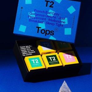 6折起 印度茶限定礼盒仅$15黑五好价:T2 超值茶叶礼盒上新啦 送人自用皆划算