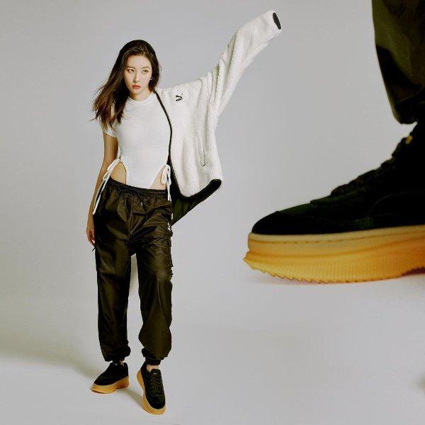 DEVA Suede厚底时尚潮流女鞋 李宣美同款