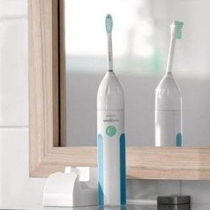 $29.99(原价$39.99)Philips Sonicare HX3211/23 声波震动电动牙刷