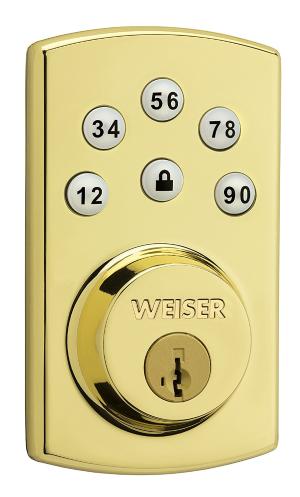 $92.65限今天:Weiser Powerbolt 2.0 智能电子密码门锁 多色选