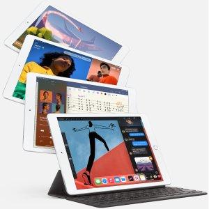"""$399收 128GB版 包邮Apple iPad 第8代 10.2""""平板电脑 Wi-Fi版 立减$30"""