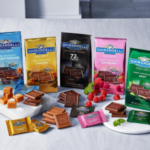 10% Off Orders over $50Ghirardelli Popular Chocolate Squares and Bars on Sale