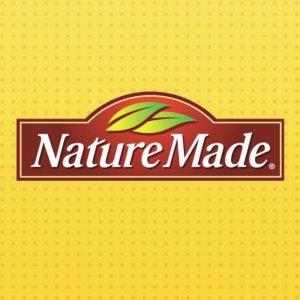额75折+包邮Nature Made 多款维他命、保健品大促