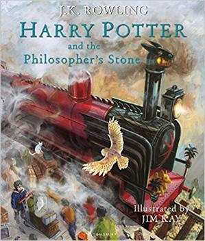 4.8折折扣升级:Harry Potter 哈利波特 最新精装插图版特卖