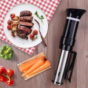 $74.79(原价$100)闪购:VPCOK 真空低温烹饪棒 恒温烹煮 做出米其林餐厅味道的牛排