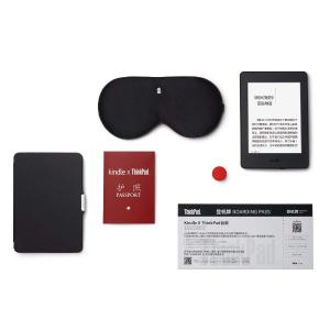 ¥968收  节省近¥300Kindle Paperwhite X ThinkPad限量版飞行家礼盒