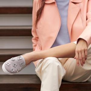 独家页面低至4折 收封面同款Cole Haan 精选女士平底鞋、穆勒鞋、凉鞋热卖