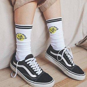 $20/3双 可混搭Cotton On 超可爱的Typo系列中筒袜特价来袭 球鞋好搭档
