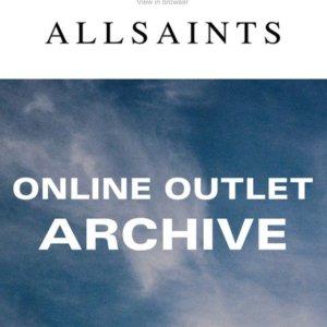 3折起!€98收风衣AllSaints 奥莱区大促 大衣毛衣、牛仔等热门单品超低价