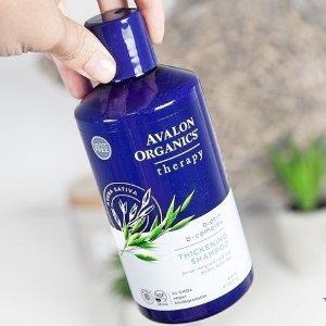 $7.99(原价$13.79)Avalon Organics Biotin  防脱发洗发水14盎司
