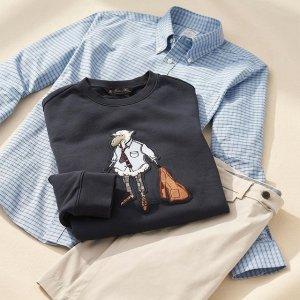 低至3折 全场$19起Brooks Brothers 季末大促 男女款式齐全 休闲格子衬衫$29