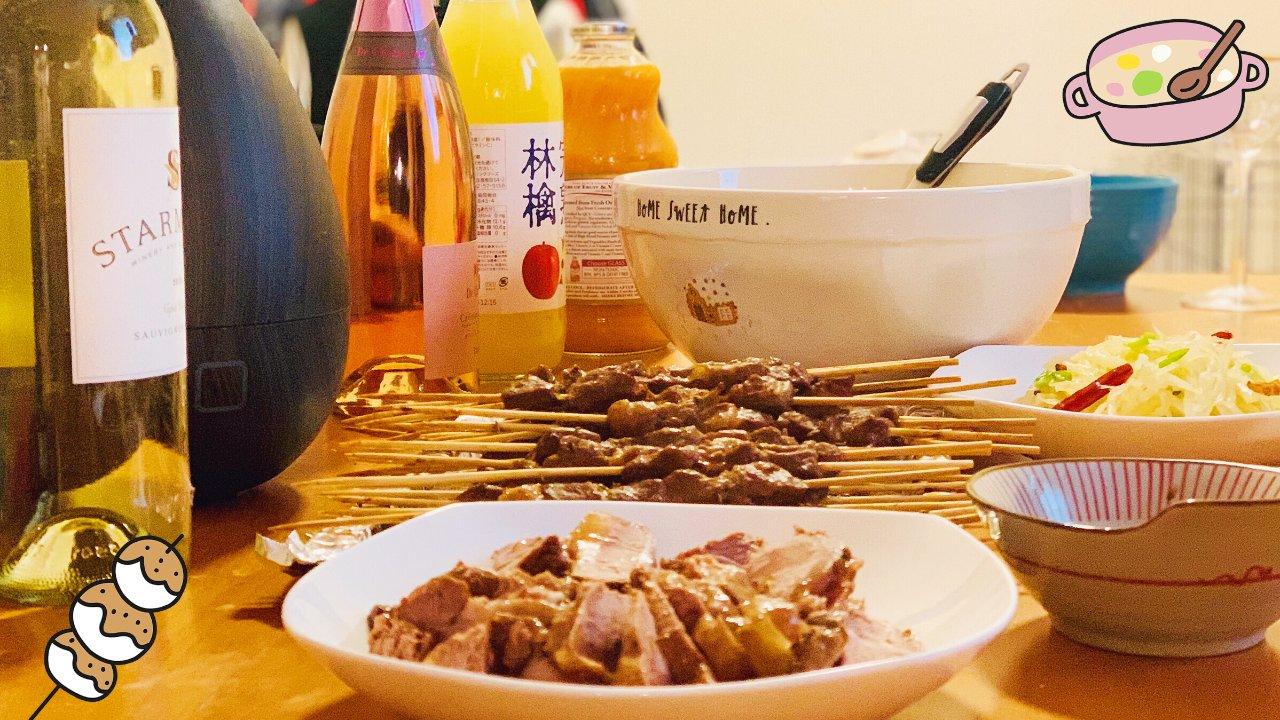 吃货究极美食攻略 | 夏天来了,在家撸个串可好?(附疙瘩汤、炝拌土豆丝食谱)