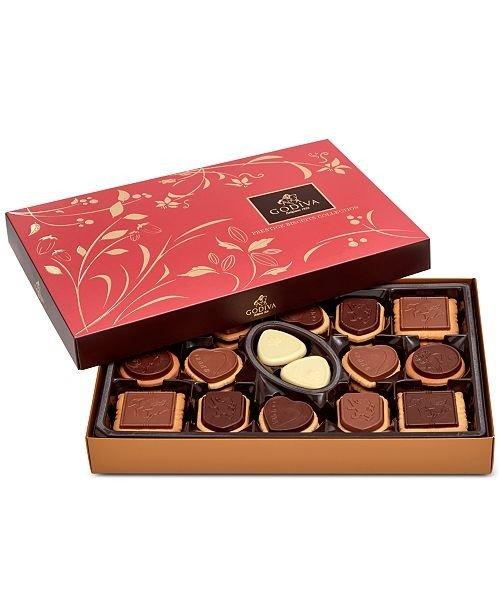 巧克力饼干礼盒 32块装