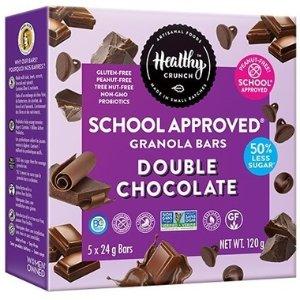 Healthy Crunch 双重巧克力谷物棒 24g*5