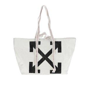 Off-WhiteLogo Arrows Tote Bag