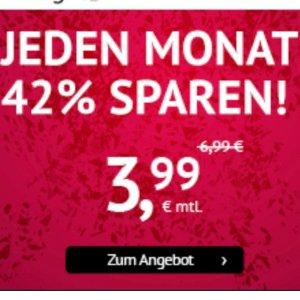 无开通费逆天价:包月电话、短信、1GB上网只要3.99欧