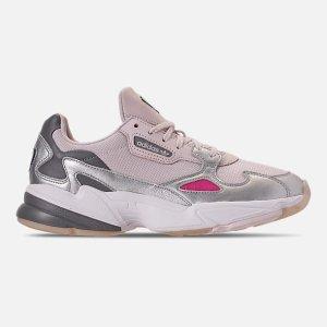 66541786e042 AdidasWomen s adidas Originals Falcon Suede Casual Shoes