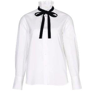 CHLOE蝴蝶结衬衫