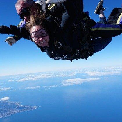 加州蒙特利湾18000ft跳伞体验