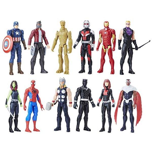 复仇者联盟12件英雄手办