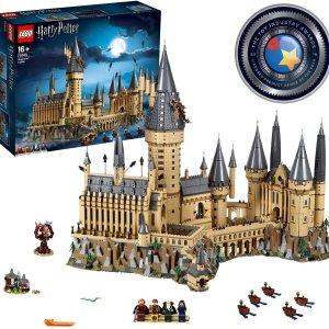 $519(原价$649)闪购:LEGO乐高 霍格沃兹城堡,哈利·波特系列经典之作