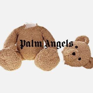 变相4.4折起 T恤$150Palm Angels 歪头可爱小熊 T恤卫衣好穿又好看
