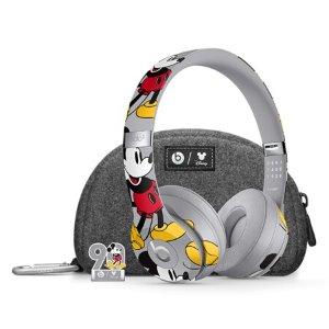 到手¥1888即将截止:Beats Solo3 Wireless 耳机 米奇90周年纪念款