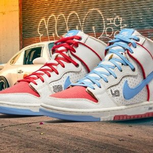 7月3日发售 定价€119.99预告:Nike 携手 Ishod Wair x Magnus Walker 保时捷联名曝光