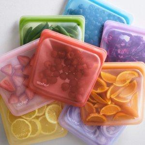 8折 $9.99起 美食博主强推Stasher 硅胶食品袋 可重复使用 性价比超高的收纳神器